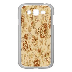 Patterns Flowers Petals Shape Background Samsung Galaxy Grand DUOS I9082 Case (White)