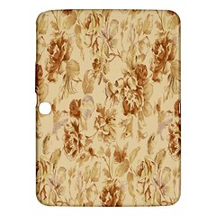 Patterns Flowers Petals Shape Background Samsung Galaxy Tab 3 (10.1 ) P5200 Hardshell Case