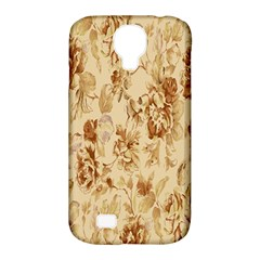 Patterns Flowers Petals Shape Background Samsung Galaxy S4 Classic Hardshell Case (PC+Silicone)