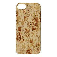 Patterns Flowers Petals Shape Background Apple iPhone 5S/ SE Hardshell Case