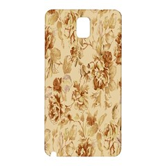 Patterns Flowers Petals Shape Background Samsung Galaxy Note 3 N9005 Hardshell Back Case