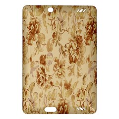 Patterns Flowers Petals Shape Background Amazon Kindle Fire HD (2013) Hardshell Case