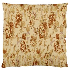 Patterns Flowers Petals Shape Background Standard Flano Cushion Case (Two Sides)
