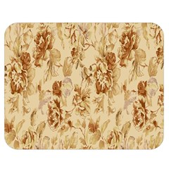 Patterns Flowers Petals Shape Background Double Sided Flano Blanket (Medium)