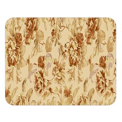 Patterns Flowers Petals Shape Background Double Sided Flano Blanket (large)
