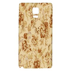 Patterns Flowers Petals Shape Background Galaxy Note 4 Back Case