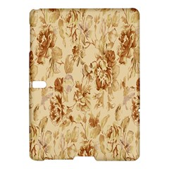 Patterns Flowers Petals Shape Background Samsung Galaxy Tab S (10.5 ) Hardshell Case