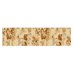 Patterns Flowers Petals Shape Background Satin Scarf (oblong)