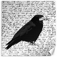 Black raven  Canvas 12  x 12