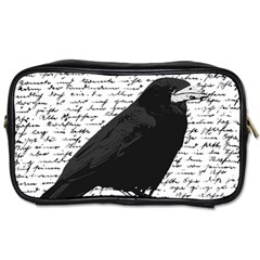 Black raven  Toiletries Bags