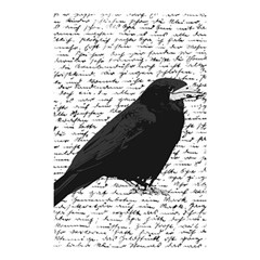 Black raven  Shower Curtain 48  x 72  (Small)