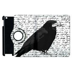 Black raven  Apple iPad 2 Flip 360 Case