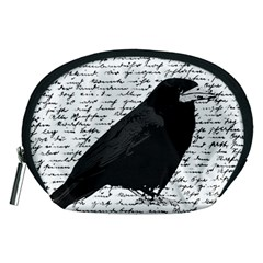 Black raven  Accessory Pouches (Medium)