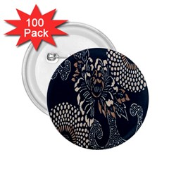 Patterns Dark Shape Surface 2 25  Buttons (100 Pack)