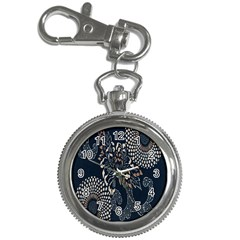 Patterns Dark Shape Surface Key Chain Watches