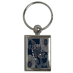 Patterns Dark Shape Surface Key Chains (rectangle)