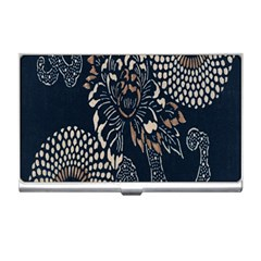 Patterns Dark Shape Surface Business Card Holders