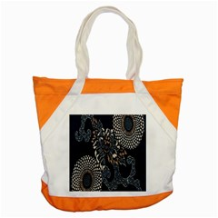 Patterns Dark Shape Surface Accent Tote Bag
