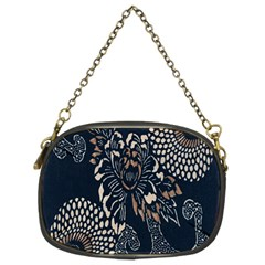 Patterns Dark Shape Surface Chain Purses (two Sides)