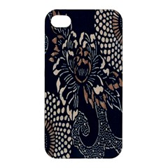 Patterns Dark Shape Surface Apple iPhone 4/4S Premium Hardshell Case