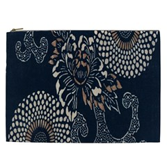 Patterns Dark Shape Surface Cosmetic Bag (XXL)