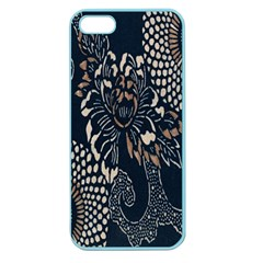 Patterns Dark Shape Surface Apple Seamless Iphone 5 Case (color)