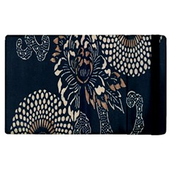 Patterns Dark Shape Surface Apple Ipad 2 Flip Case