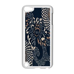 Patterns Dark Shape Surface Apple iPod Touch 5 Case (White)