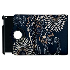 Patterns Dark Shape Surface Apple iPad 2 Flip 360 Case