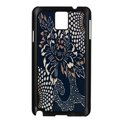Patterns Dark Shape Surface Samsung Galaxy Note 3 N9005 Case (Black)