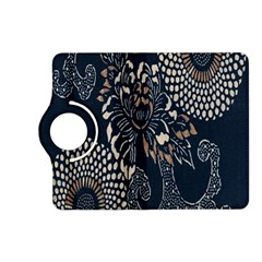 Patterns Dark Shape Surface Kindle Fire HD (2013) Flip 360 Case
