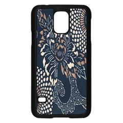 Patterns Dark Shape Surface Samsung Galaxy S5 Case (Black)