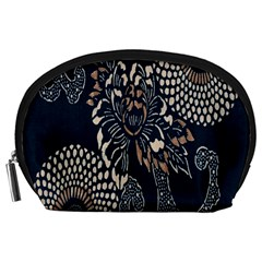 Patterns Dark Shape Surface Accessory Pouches (Large)