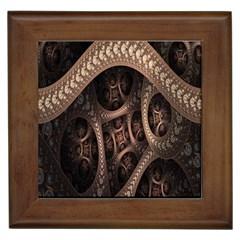 Patterns Dive Background Framed Tiles