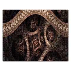 Patterns Dive Background Rectangular Jigsaw Puzzl