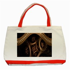 Patterns Dive Background Classic Tote Bag (Red)