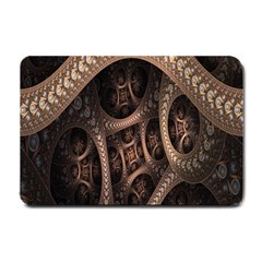 Patterns Dive Background Small Doormat