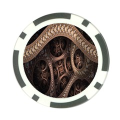 Patterns Dive Background Poker Chip Card Guard