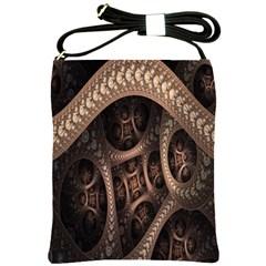 Patterns Dive Background Shoulder Sling Bags