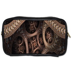 Patterns Dive Background Toiletries Bags