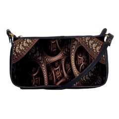 Patterns Dive Background Shoulder Clutch Bags