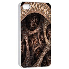 Patterns Dive Background Apple iPhone 4/4s Seamless Case (White)