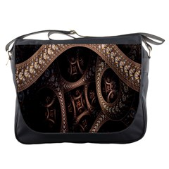 Patterns Dive Background Messenger Bags