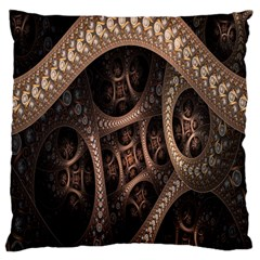 Patterns Dive Background Large Cushion Case (One Side)