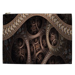 Patterns Dive Background Cosmetic Bag (xxl)