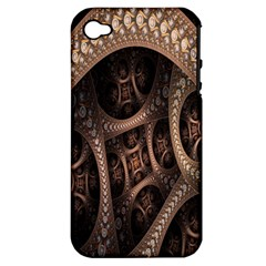Patterns Dive Background Apple iPhone 4/4S Hardshell Case (PC+Silicone)