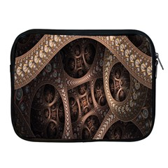 Patterns Dive Background Apple iPad 2/3/4 Zipper Cases