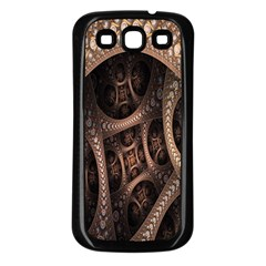 Patterns Dive Background Samsung Galaxy S3 Back Case (Black)