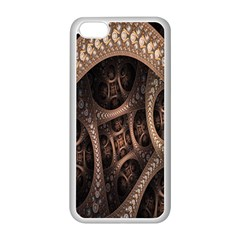 Patterns Dive Background Apple iPhone 5C Seamless Case (White)