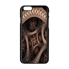 Patterns Dive Background Apple iPhone 6/6S Black Enamel Case